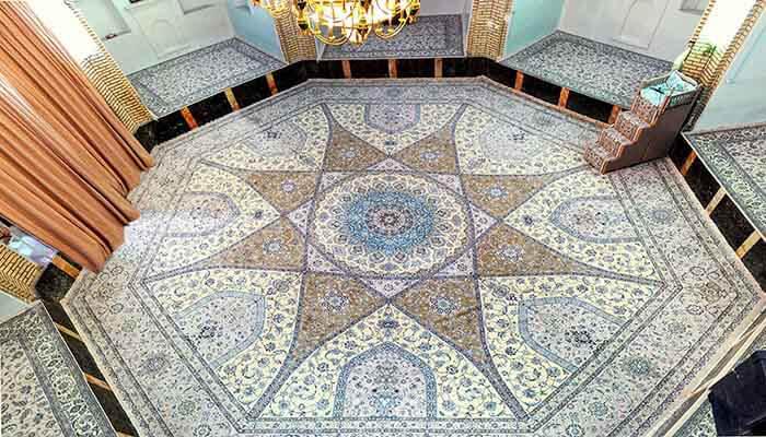 فرش ماشینی قواره بزرگ با سایر ابعاد و اشکال سفارشی
