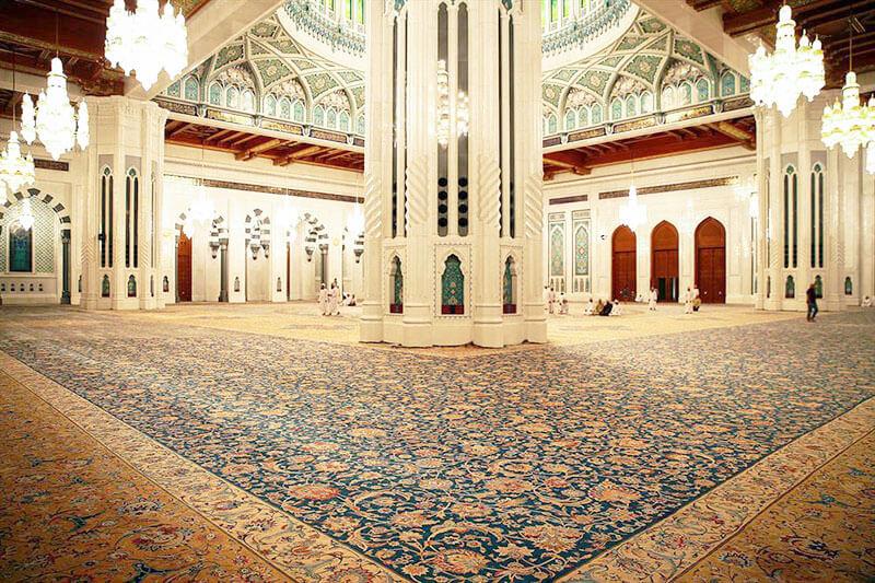 سیری در تاریخ طراحی و بافت فرش های بزرگ پارچه