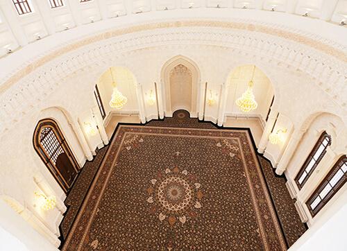 فرش مسجد حیدر باکو