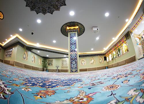 فرش مسجد(نمازخانه) قرارگاه خاتم الانبیا