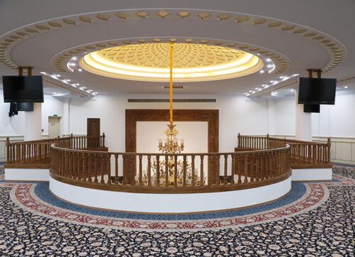 فرش مسجد حضرت رسول اعظم پاسداران