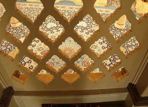 فرش مسجد حضرت ابوالفضل شهرری