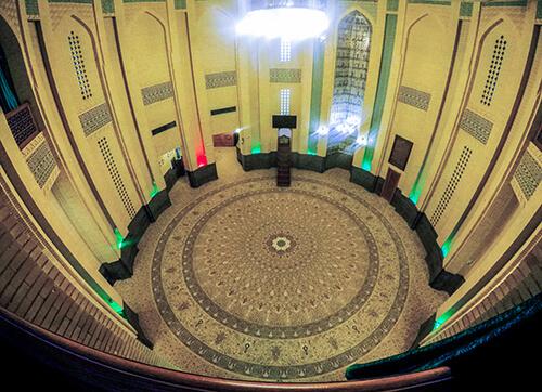 فرش مسجد الغدیر میرداماد تهران