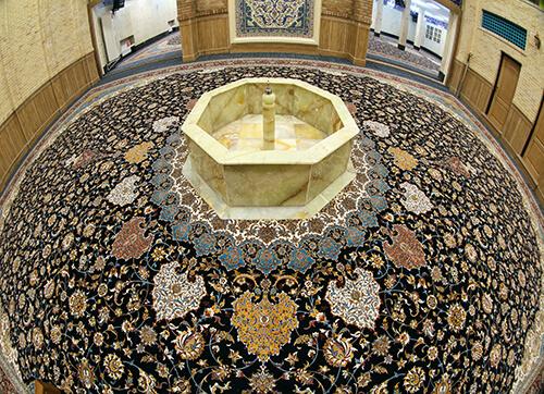 فرش مسجد جامع نیاوران تهران
