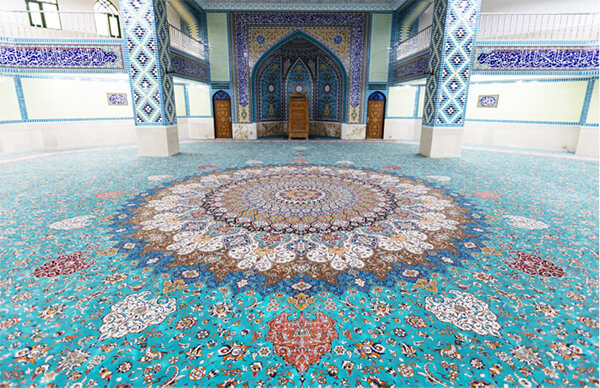 چرا فرش سایز بزرگ ، خاص و بزرگ پارچه ؟