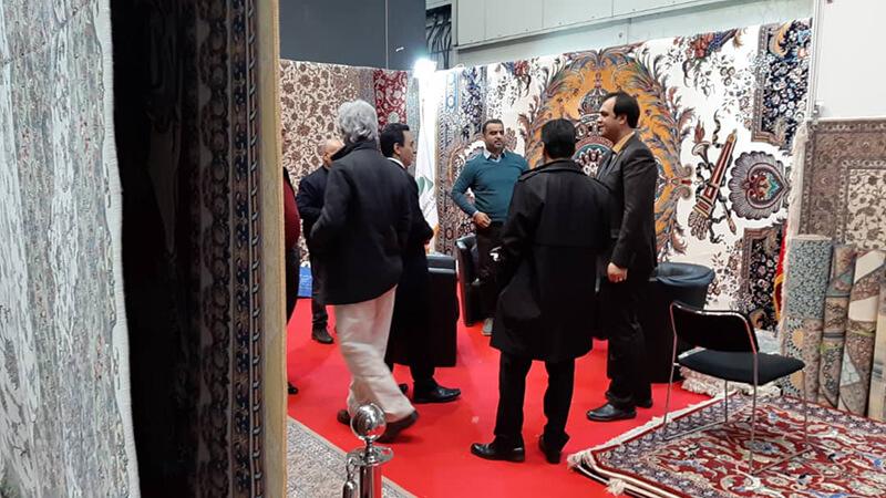 حضور گروه تخصصی فرش اسلیمی در نمایشگاه دموتکس آلمان 2020