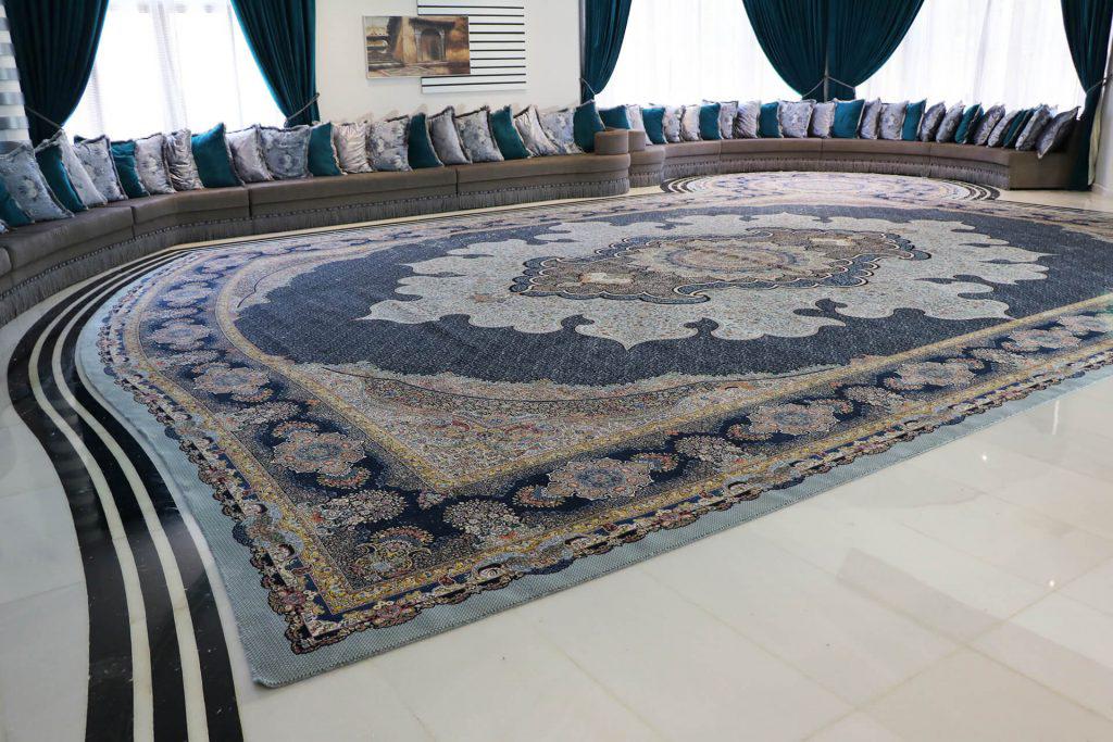 فرش ماشینی قواره بزرگ با ابعاد و اشکال سفارشی و خاص