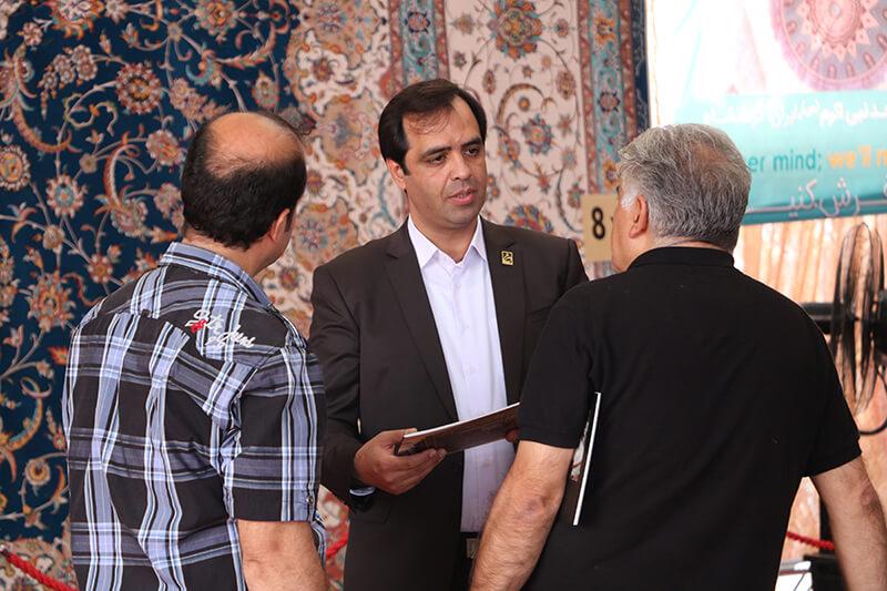 حضور گروه تخصصی فرش اسلیمی در یازدهمین دوره نمایشگاه بین المللی فرش ماشینی تهران (1398)