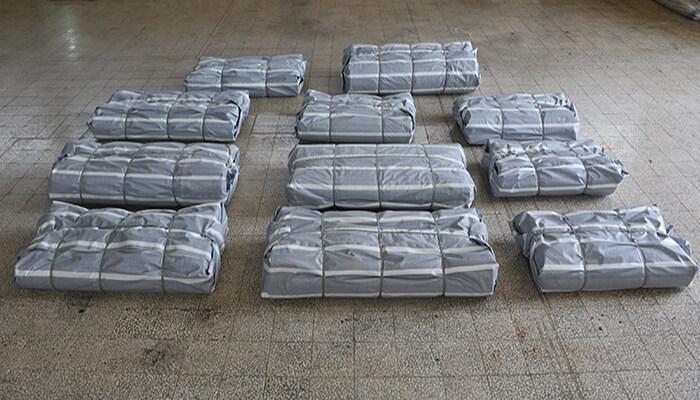 بسته بندی و ارسال فرش