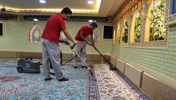 شستشو،تعمیر و نگهداری فرش