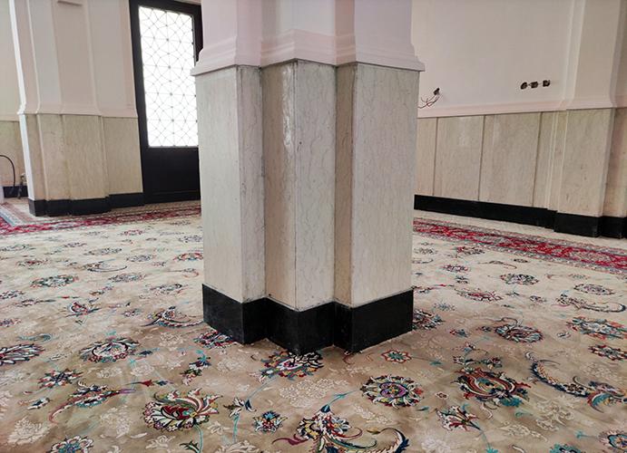 فرش یکپارچه کد : 10080 ، مسجد حضرت اسماعیل (هرمزگان – هرنگ)