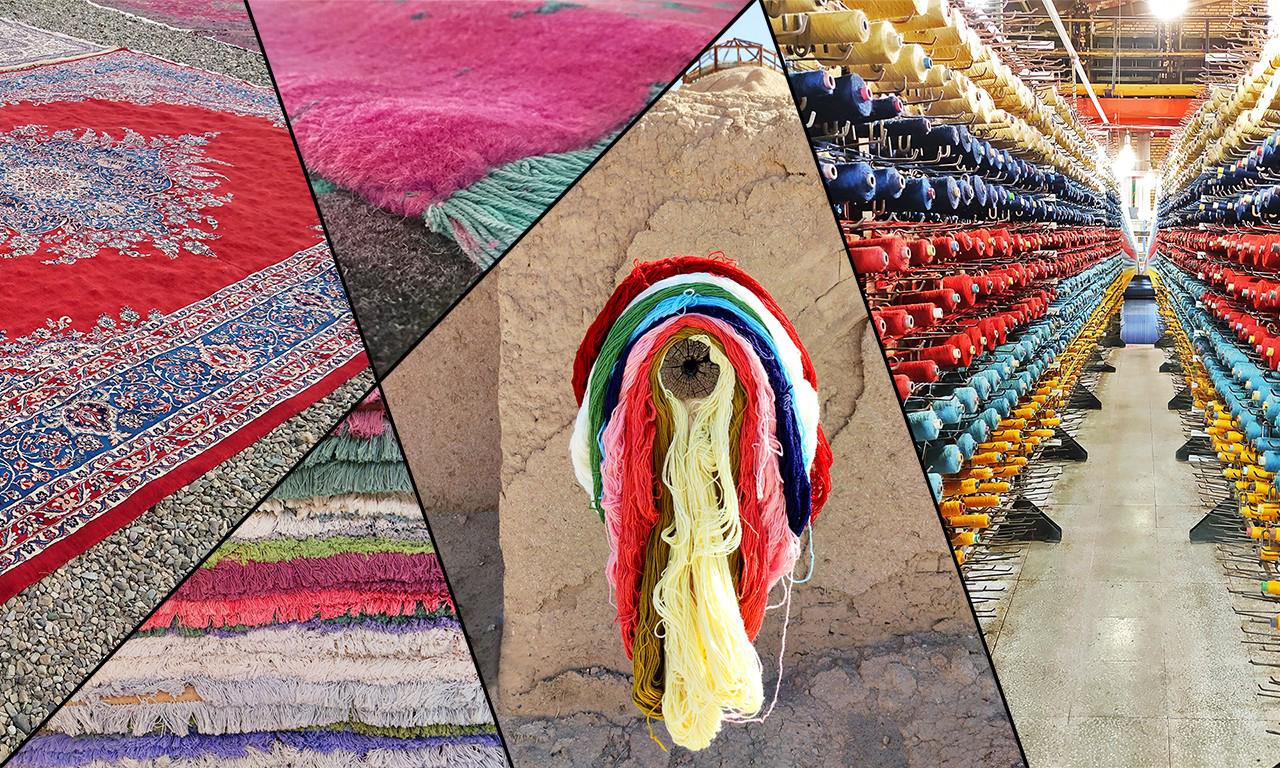 مزایای فرش های پشمی و ارگانیک تولید شده توسط گروه تخصصی فرش اسلیمی